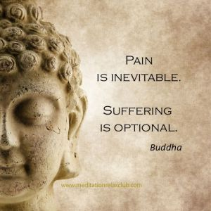 pain suffering buddha