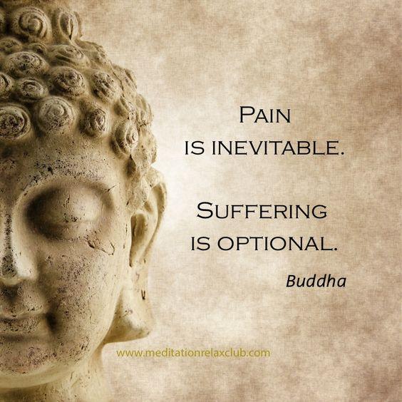 pain suffering buddha